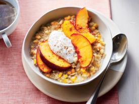 hot oatmeal